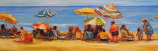 Beach Party 1 by Lucy Manley
