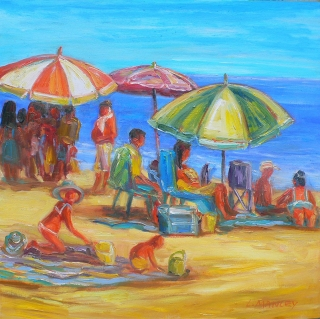 Beach Time by Lucy Manley