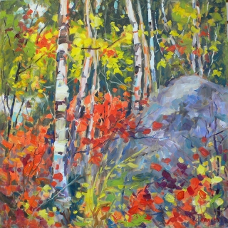 Along the Madawaska #3 by Lucy Manley