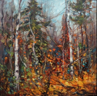 Into the November Woods by Lucy Manley