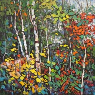 Birch Dance by Lucy Manley