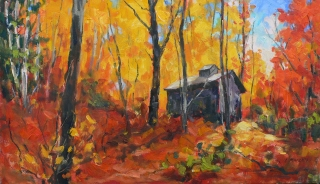 Sugar Shack on the Ridge 2 by Lucy Manley