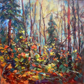 Mid November Woods by Lucy Manley