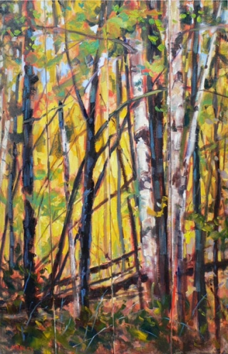 October Woods by Lucy Manley