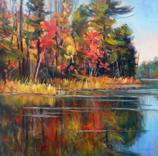 Washago Swamp by Lucy Manley