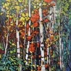 Birch Maze by Lucy Manley