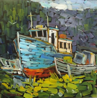 Dry Dock, Placentia by lucy Manley