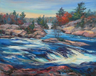 Burleigh Falls by Lucy Manley