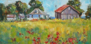 July at Amherst Island by Lucy Manley