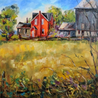 The Slater Farm by Lucy Manley