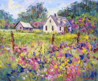 July in Bloom by Lucy Manley