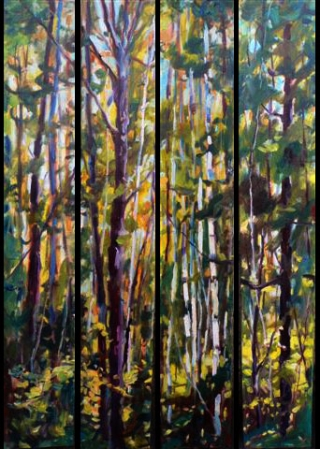 July Woods by Lucy Manley