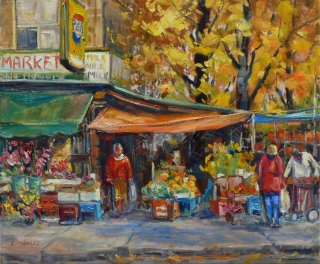 Roncesvalles Market by Lucy Manley