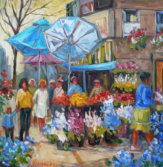 Market on Bloor by Lucy Manley