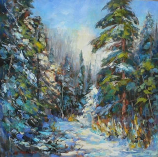 Algonquin Winter by Lucy Manley