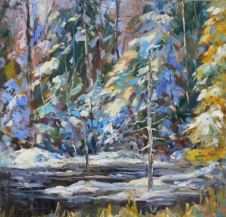 Winter Splendour by Lucy Manley
