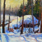 Winter Shadows by Lucy Manley