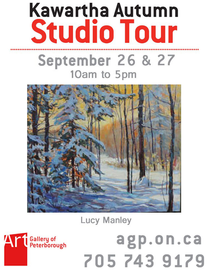 Kawartha Autumn Studio Tour Invite