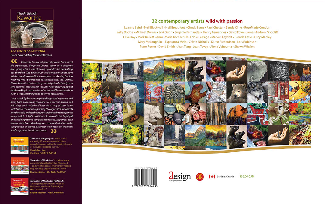 The Artists of Kawartha Back Cover