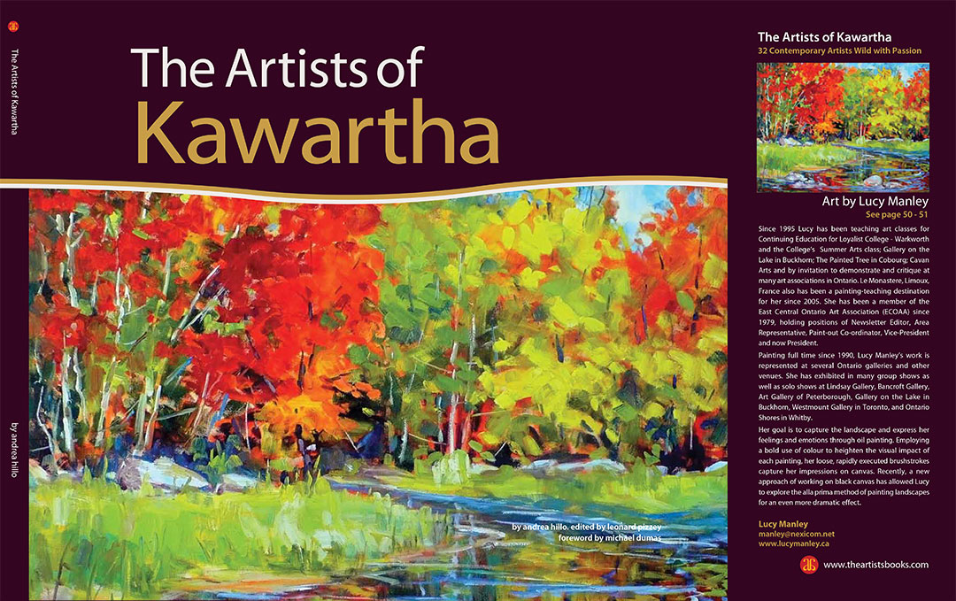The Artists of Kawartha Front Cover